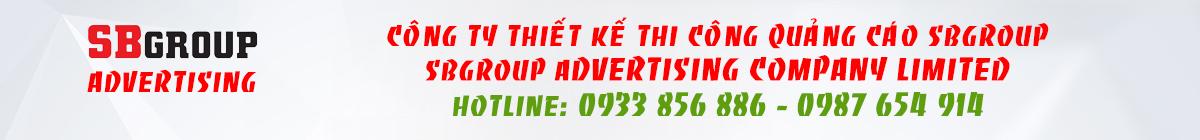 thiết kế thi công làm bảng hiệu quảng cáo